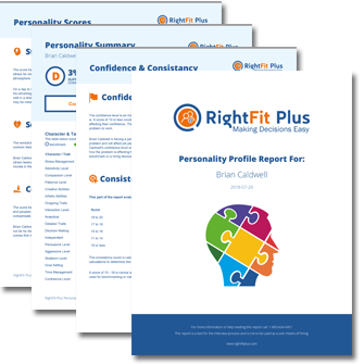 RightFit Plus math and verbal skills testing
